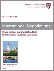 the cultural barriers in the international business negotiation More international negotiations in areas such as strategic  can be challenging  because cultural barriers  training on business negotiation in a variety of.